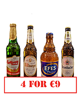 Any 4 for €9