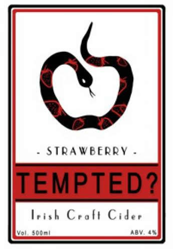 Tempted Strawberry Cider
