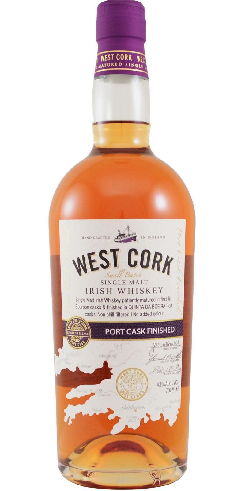 West Cork Port finish