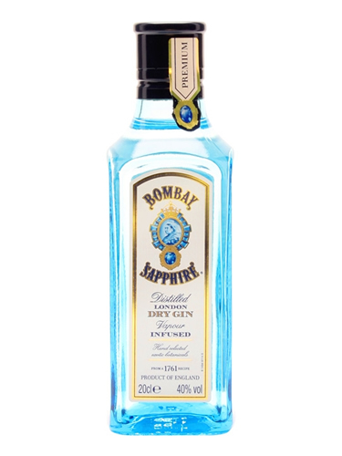 Bombay Sapphire Gin (40%) / Small Bottle 5cl
