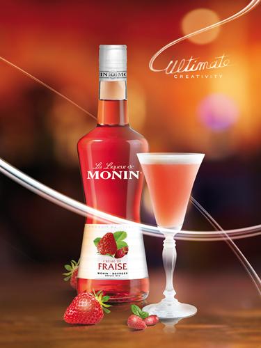 MONIN Strawberry liqueur (700ml)