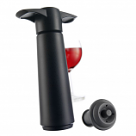 Vacuvin Wine Saver - Black Pump & 2 Stoppers