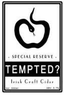 Tempted Special Reserve Cider