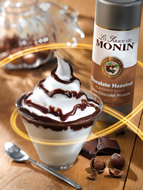 MONIN Chocolate Hazelnut sauce (500ml)
