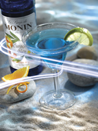 MONIN Blue Curacao syrup (700ml)
