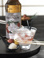 MONIN Lychee syrup (700ml)