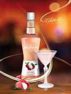 MONIN Lychee liqueur (700ml)