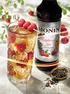 MONIN Raspberry Tea syrup (1 litre)