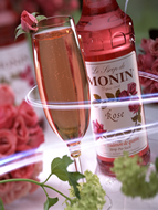MONIN Rose syrup (700ml)