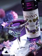 MONIN Violet syrup (700ml)