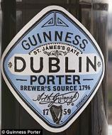 Guinness Dublin Porter 500ml