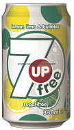 7 up free 330ml can