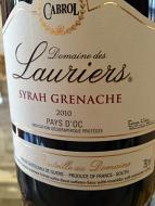 Domaine Des Lauriers Syrah Grenache