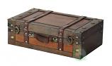 Large Wooden Suitcase - Antique Effect