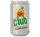 Club Orange Diet 330ml Can