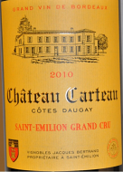 Chateau Carteau Saint Emillion GC 2016