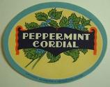 Peppermint Cordial 1 litre