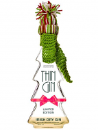 Thin Gin Christmas Bottle